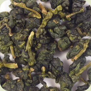 Tea From Taiwan Hua Gang Oolong closeup